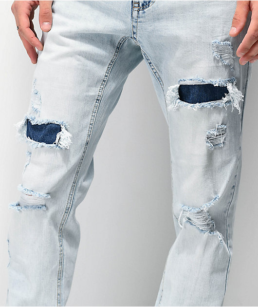 Empyre Skeletor Bronson Skinny Jeans