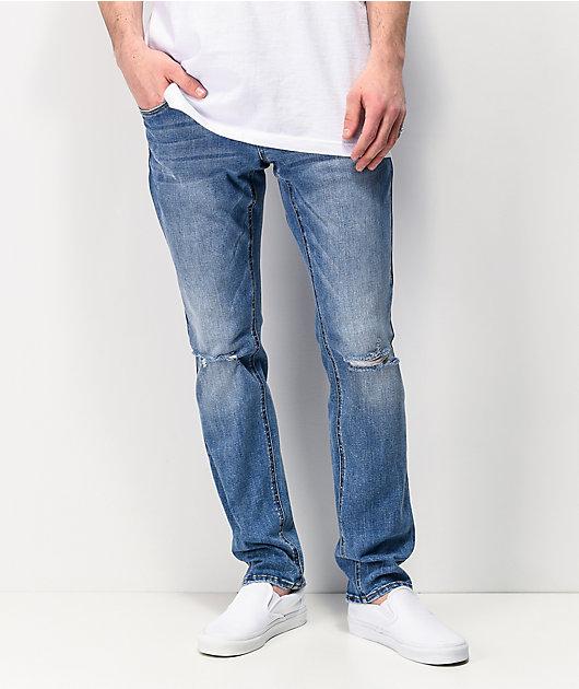 Empyre Skeletor Bruce EXT Stretch Skinny Jeans