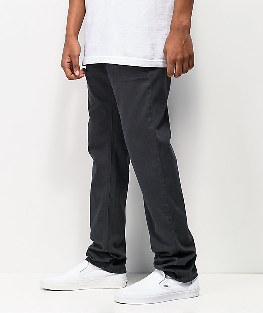Empyre Skeletor Charcoal Grey Chino Pants