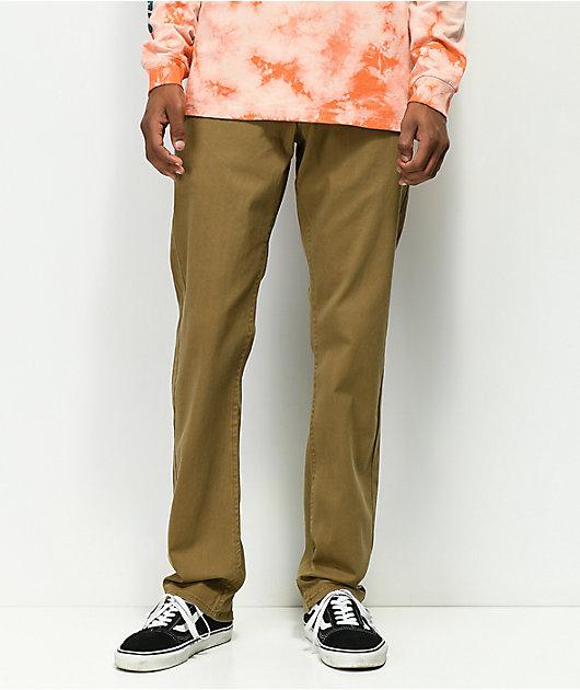 Empyre Skeletor Dark Khaki Chino Pants