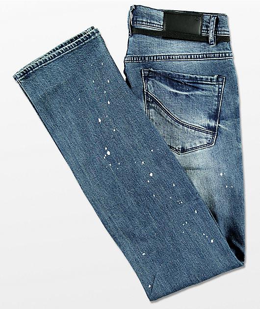 Empyre Skeletor Sawyer jeans con salpicaduras