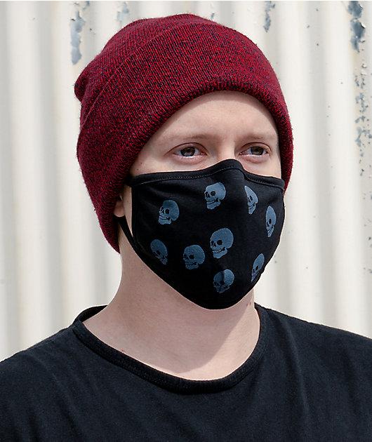 Empyre Skulls Black Face Mask