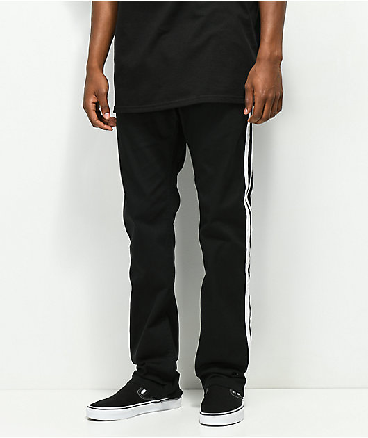 Empyre Sledgehammer Stripe Black Pants