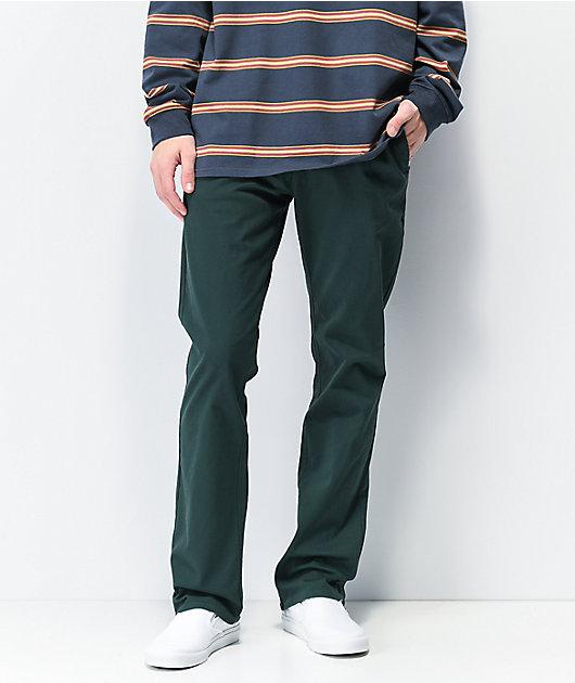 Empyre Sledgehammer pantalones chinos verdes