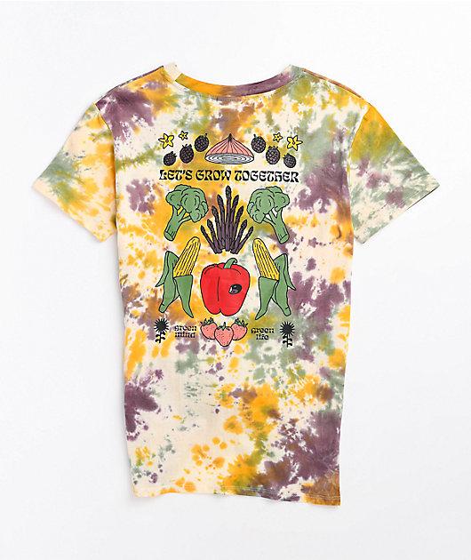 Empyre Sloane Green Life Tie Dye T-Shirt