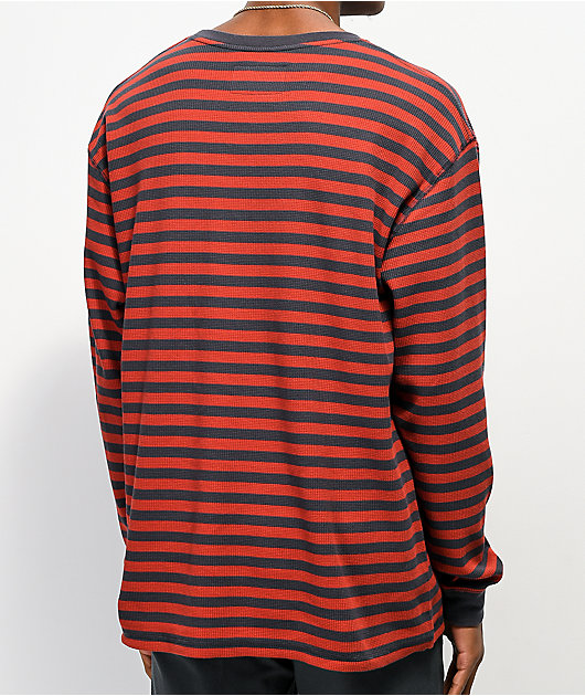 Empyre Standard camiseta de manga larga roja y azul marino