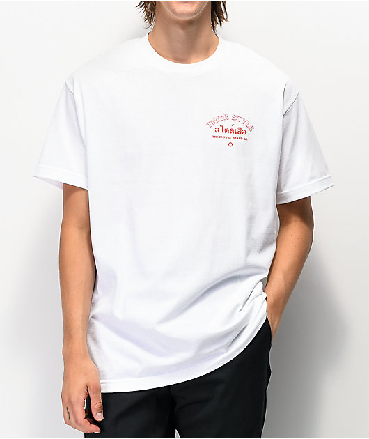 Empyre Style Of The Tiger White T-Shirt