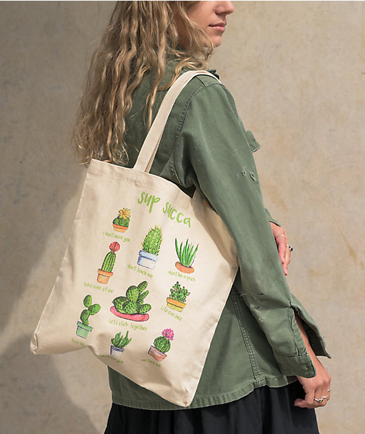 Empyre Sup Succa Natural Tote Bag