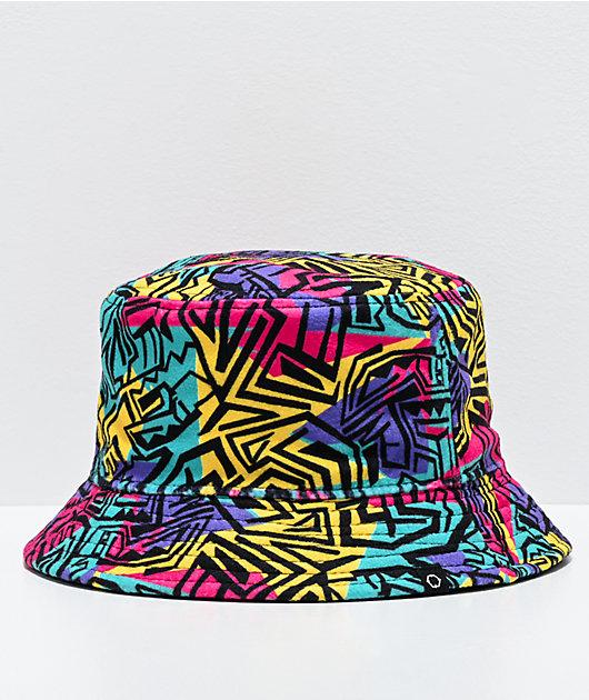Empyre Swatch Geo Print sombrero de cubo