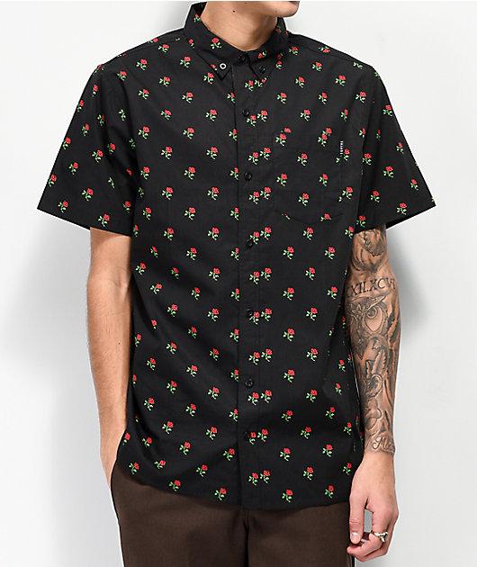 Empyre Tate camiseta negra con botones