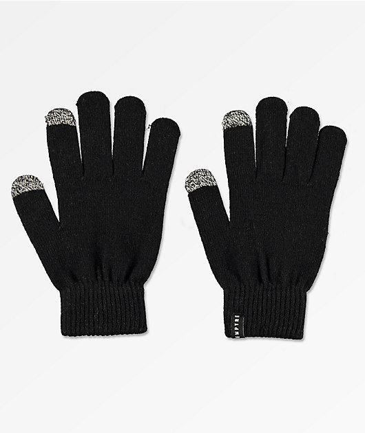 Empyre Techy Tachy Black Gloves