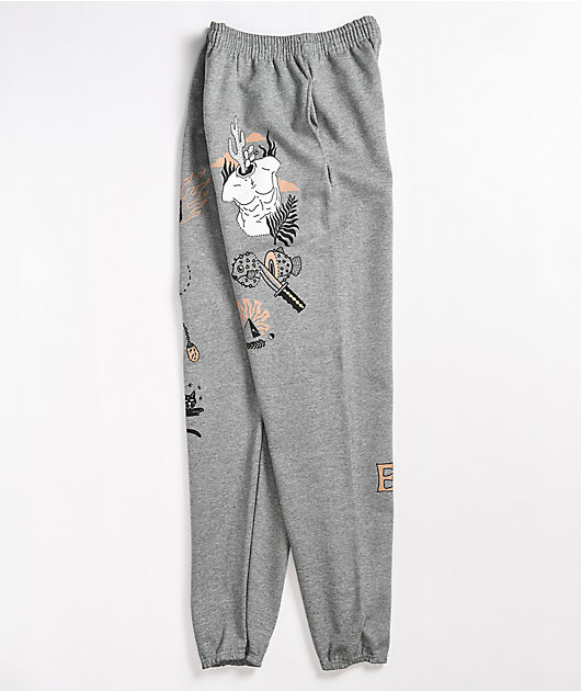 Empyre Time Warp Grey Sweatpants