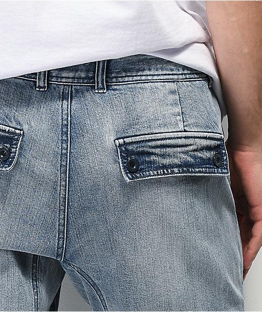 Empyre Traveler pantalones jogger de mezclilla