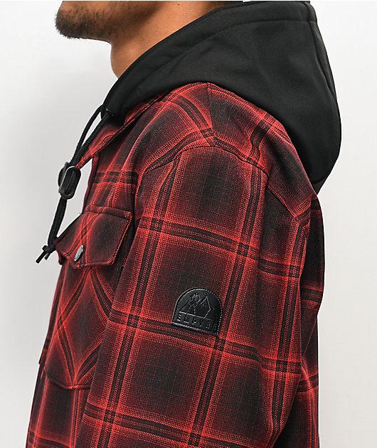 Empyre Traversed Red Plaid 10K Snowboard Jacket