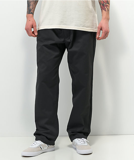 Empyre Tyson Loose Fit Black Skate Pants