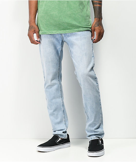 Empyre Verge Jonah Light Wash Tapered Skinny Jeans