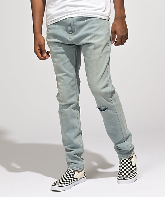 Empyre Verge Northport Light Wash Tapered Skinny Jeans