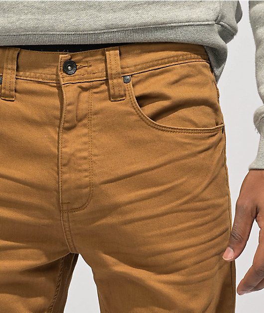 Empyre Verge Tapered Tobacco Skinny Jeans