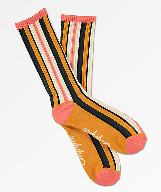 Empyre Vertical Striped Multicolor Crew Socks