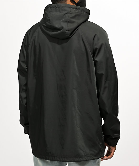 Empyre Vibe Black Windbreaker Jacket