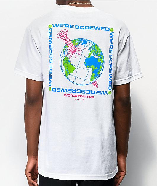 Empyre We're Screwed camiseta blanca