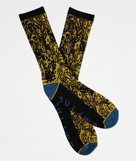 Empyre Wrap calcetines negros