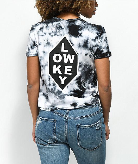 Empyre Yohanna Low Key Black Tie Dye T-Shirt