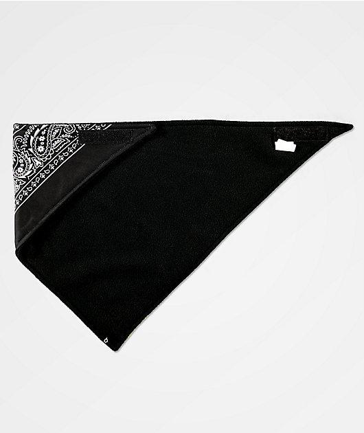 Empyre bandana de cachemir amarillo y negro