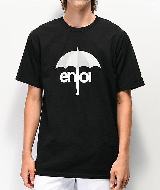 Enjoi Umbrella Logo camiseta negra