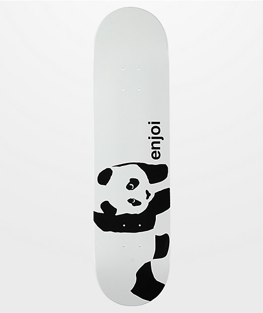 Enjoi Whitey Panda Wide Logo 8.0