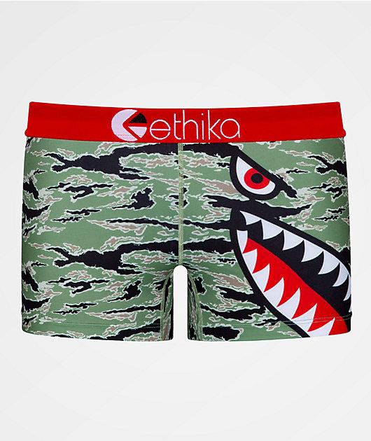 Ethika Bomber Tiger Boyshort Underwear