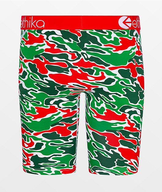 Ethika Boys Milan Camo Boxer Briefs