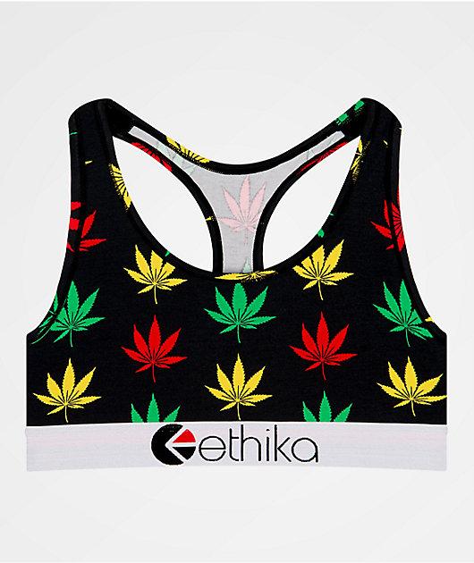 Ethika Happy Leaf sujetador deportivo