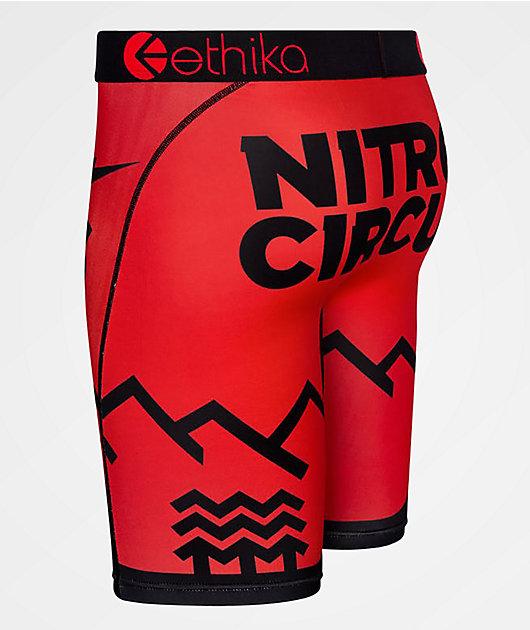 Ethika x Nitro Circus Parks & Rec Red Boxer Briefs