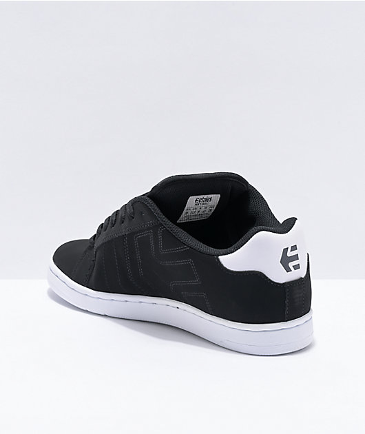 4101000467 979 ETNIES  FADER 2  black white gum Skate MARANA NEU OVP