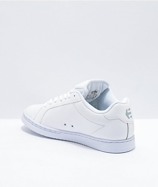 Etnies Fader White Skate Shoes