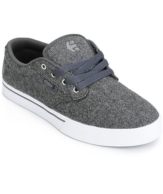 Etnies Jameson 2 Eco dark grey Skater Sneaker Schuhe grau