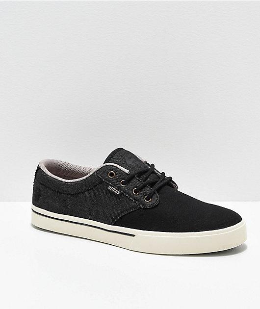Etnies Jameson 2 Eco zapatos de skate en negro, blanco y dorado