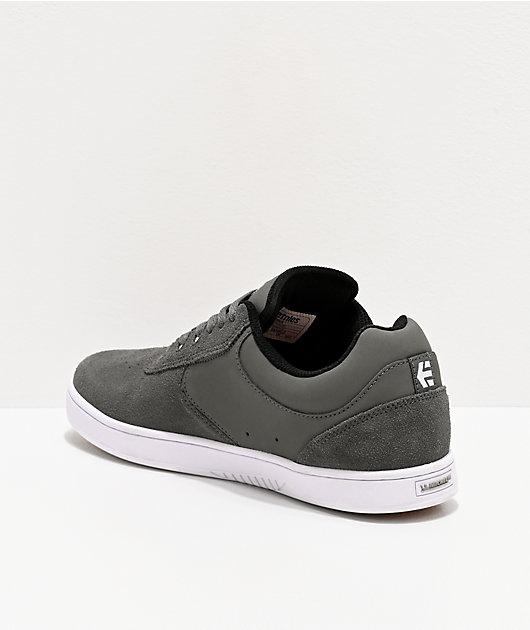 Etnies Joslin Grey & White Skate Shoes