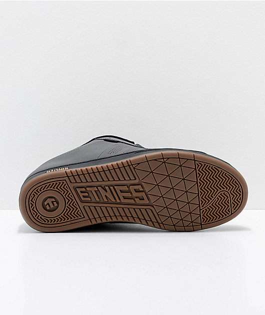 Etnies Kingpin Grey, Black & Gold Skate Shoes
