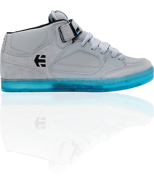 Etnies Number Grey \u0026 Blue Mid Skate