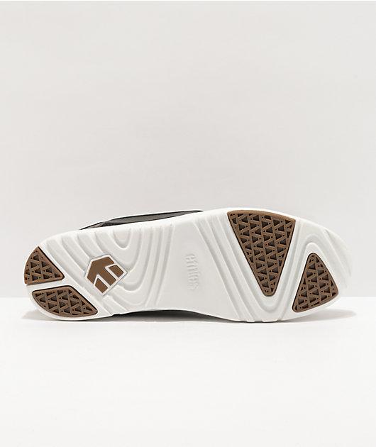 Etnies Scout Black, White & Gum Skate Shoes
