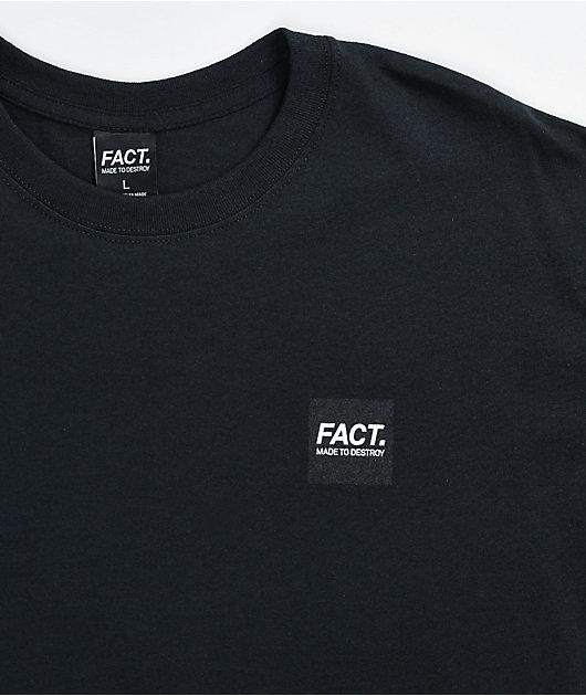 FACT Box Logo Black T-Shirt