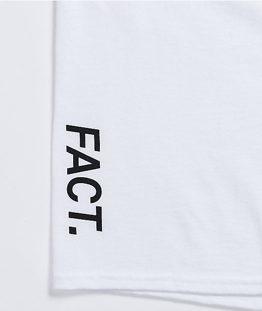 FACT Crack Down White T-Shirt