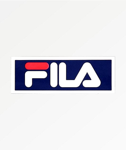 FILA Blue Sticker