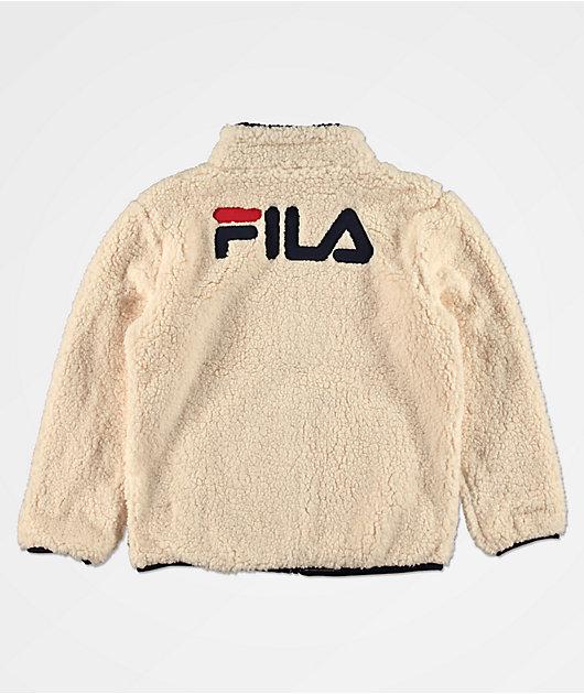 FILA Boys Bruno Sherpa Jacket