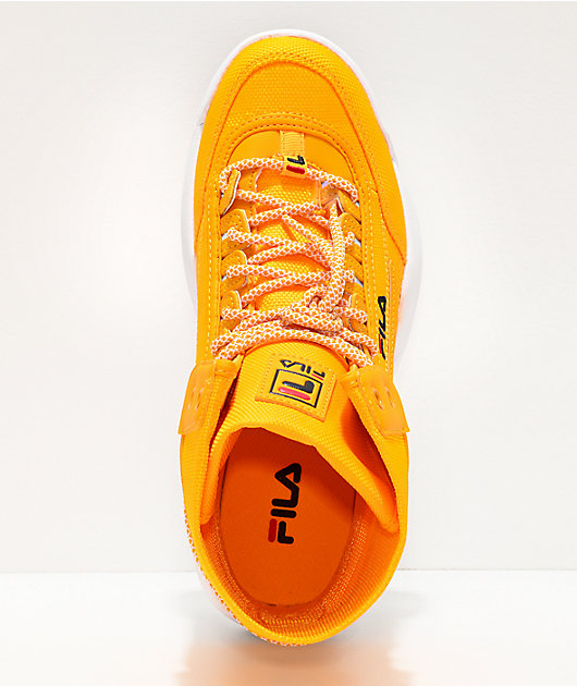 FILA Disruptor Ballistic botas amarillas