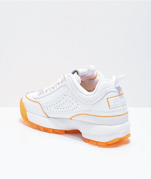 FILA Disruptor II Ice zapatos anaranjados