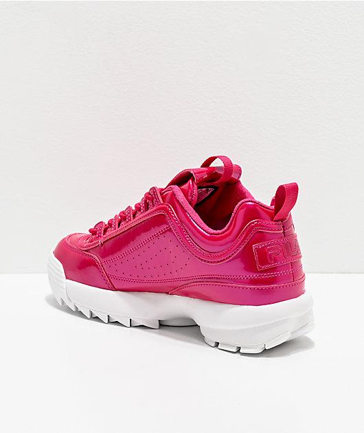 FILA Disruptor II Liquid Raspberry Shoes