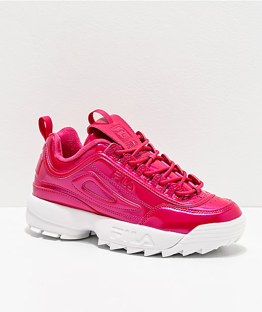 FILA Disruptor II Liquid Raspberry zapatos